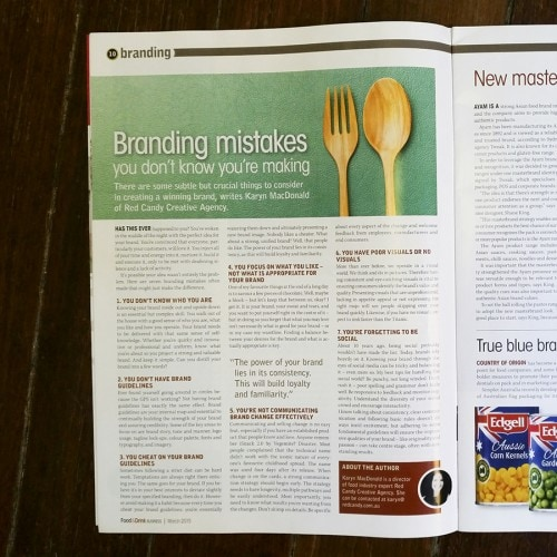 Food & Drink Magazine Article 2