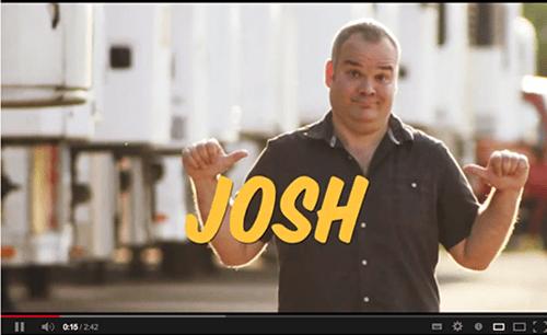 Oscar Mayer guy Josh