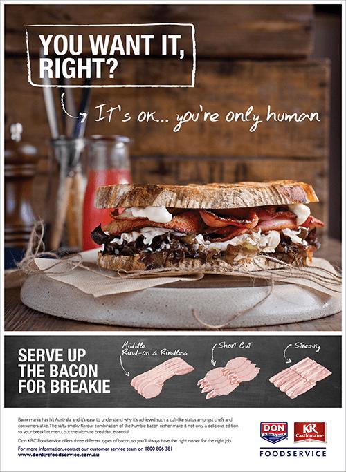 Don KRC Foodservice Print Ad