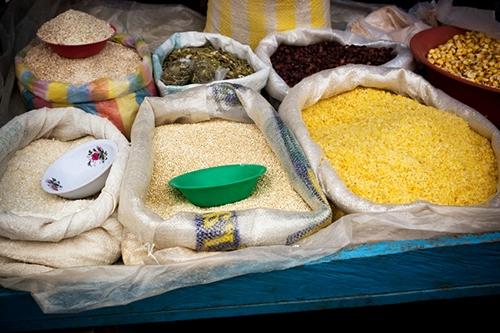 Quinoa at markets