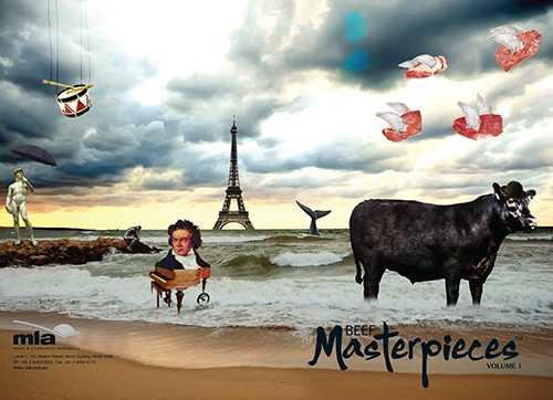 MLA Beef masterpieces front cover