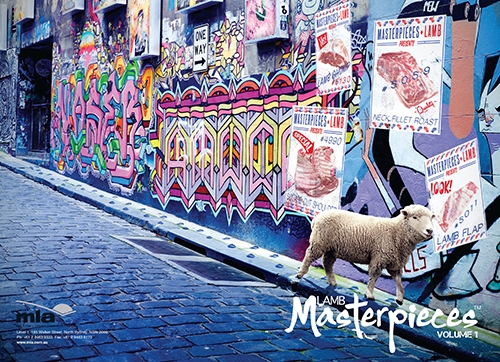 MLA Lamb masterpieces front cover