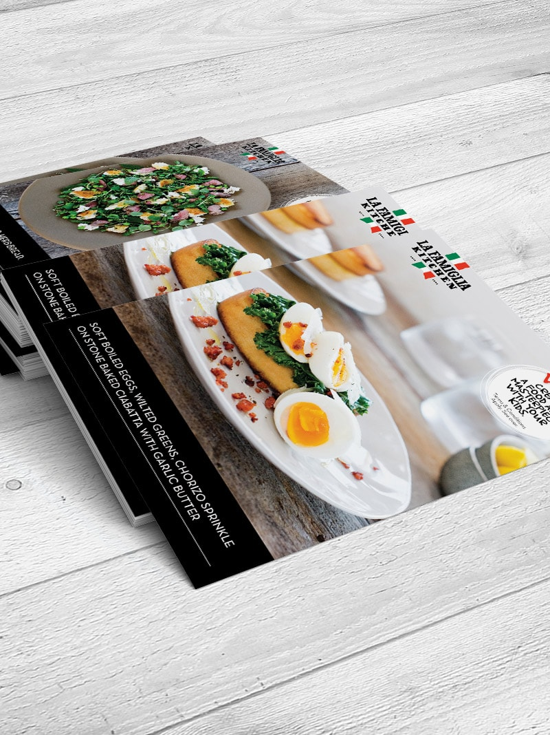 La Famiglia Kitchen Concept - Red Candy Creative Portfolio