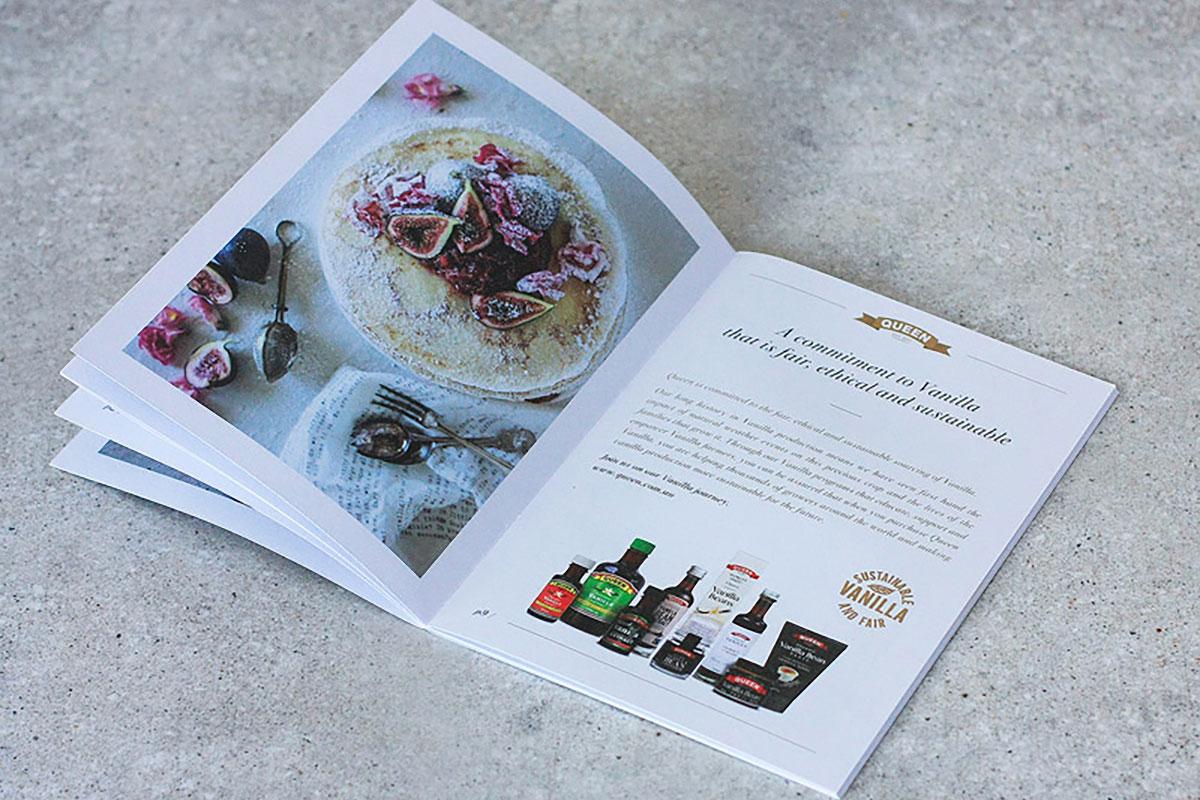 Queen Fine Foods recipe book - Red Candy