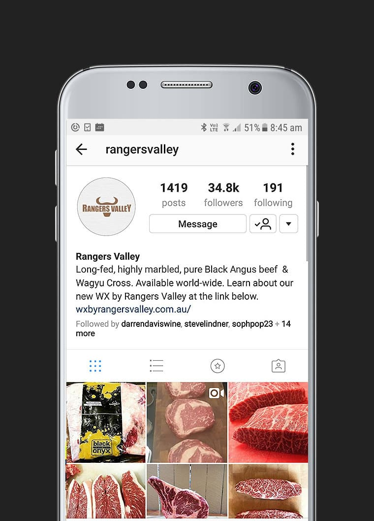 Rangers Valley Mobile - Red Candy Creative Portfolio