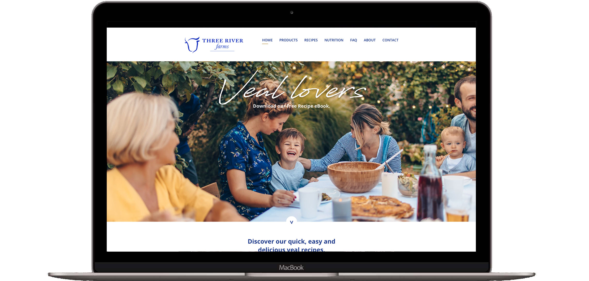 Three River Farms Website