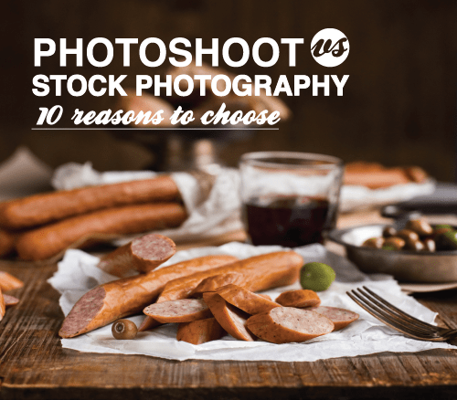Photoshoot vs stock photography feature